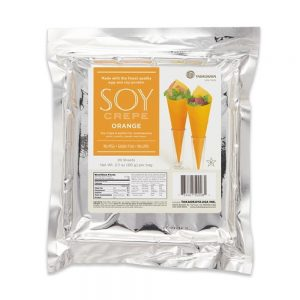 Takaokaya Soy Crepe Orange, 20shts