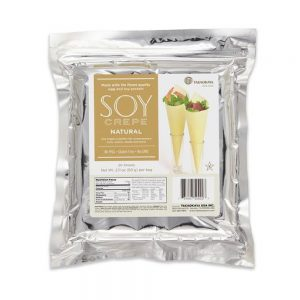 Takaokaya Soy Crepe Natural (White), 2oshts